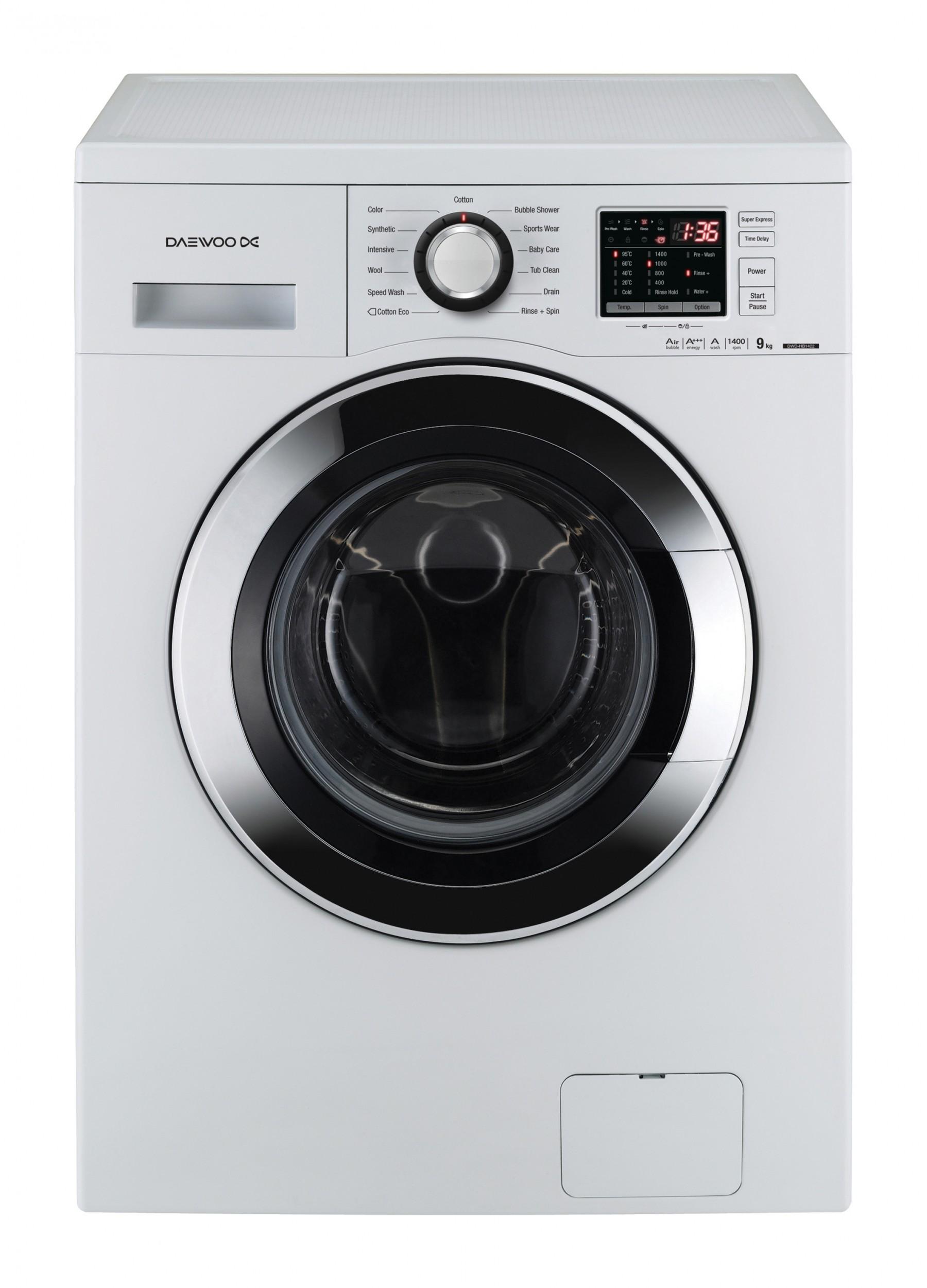 dwd hb1422ecoeu washing machine 9kg 1400rpm daewoo electronics rh daewooelectronics eu Daewoo Washer Parts Daewoo Steam Washer