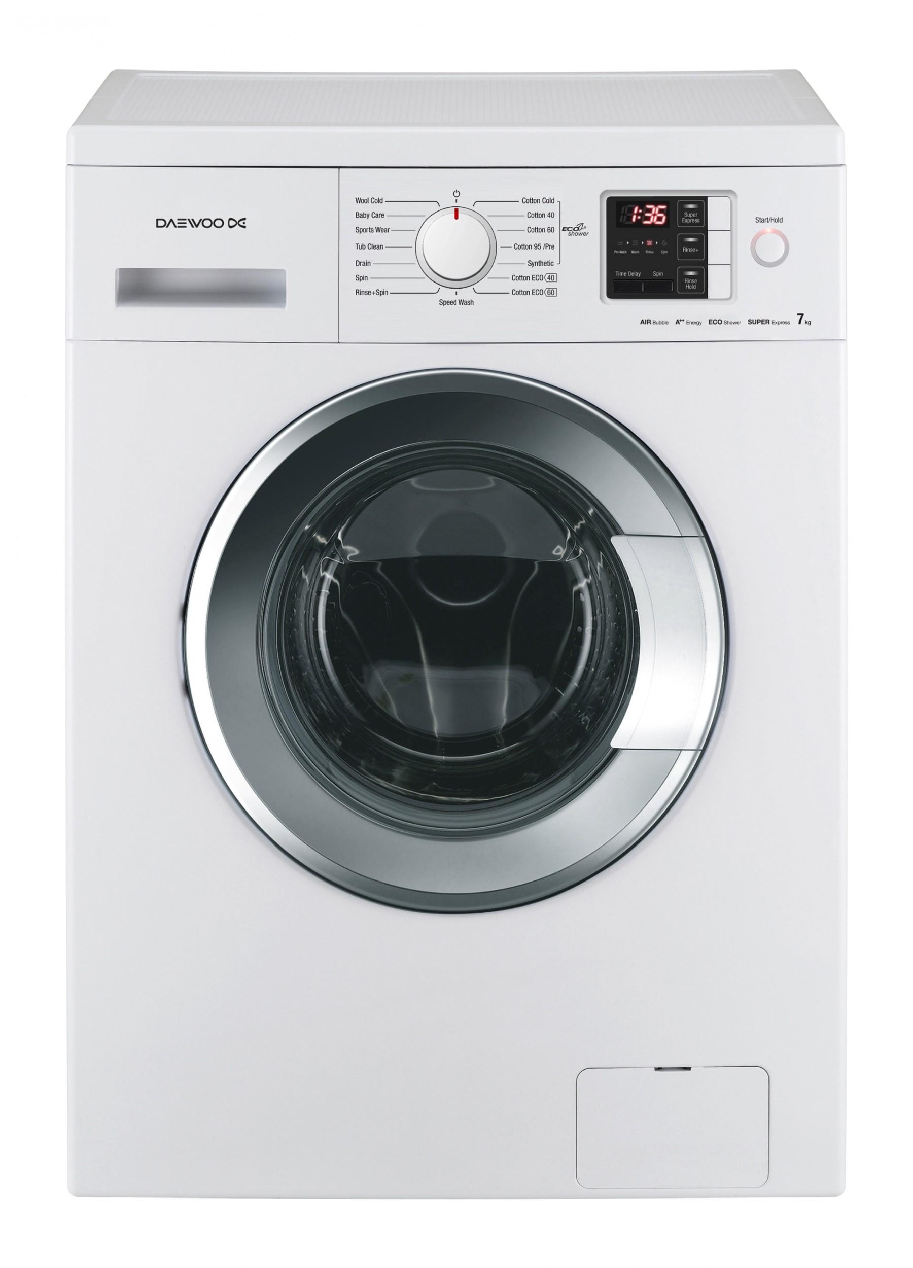 dwd np1222 washing machine 7kg 1200rpm daewoo electronics rh daewooelectronics eu Daewoo Steam Washer Daewoo Washer and Dryer