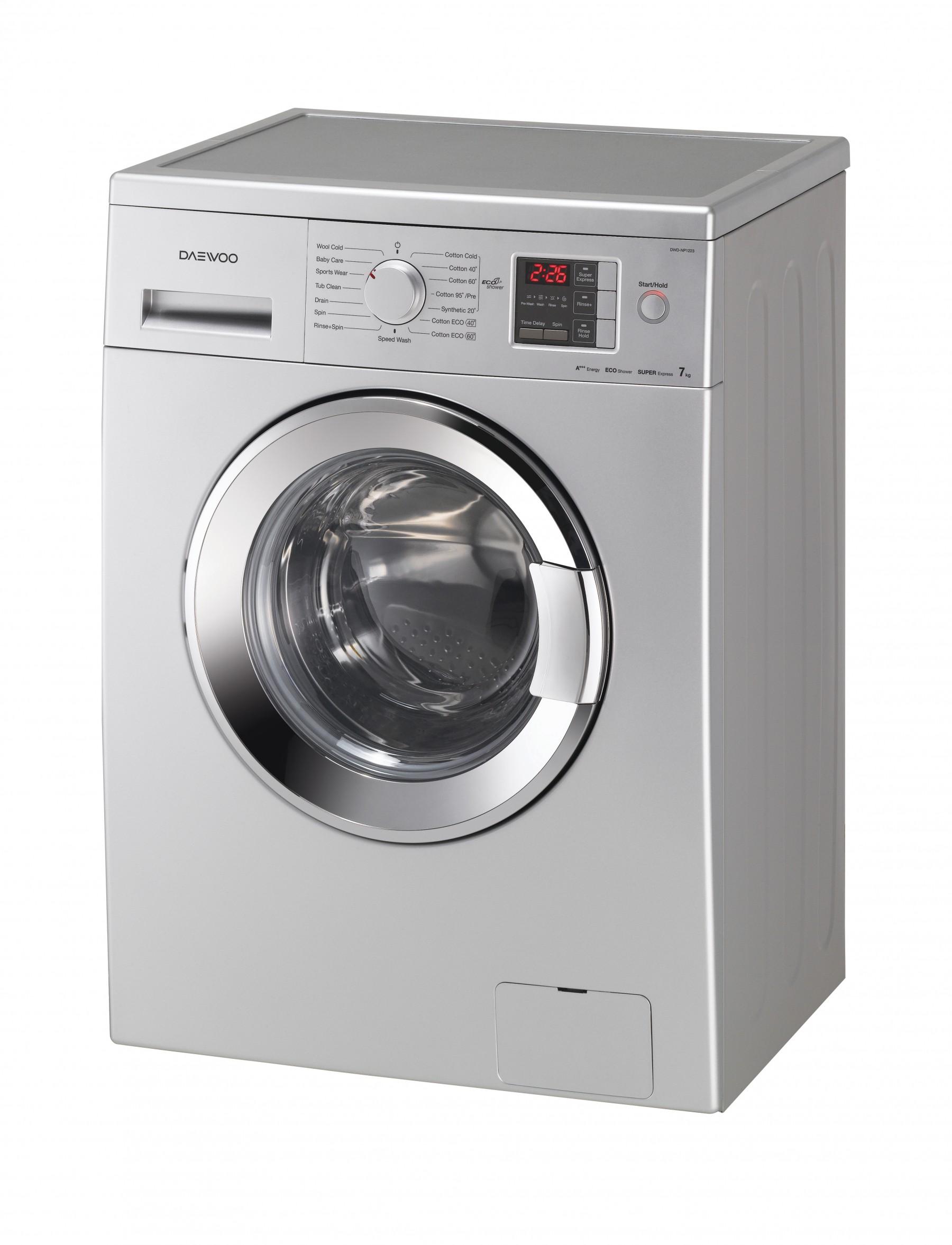 dwd np1223 washing machine 7kg 1200rpm daewoo electronics rh daewooelectronics eu Daewoo Washer and Dryer Parts Daewoo Washer and Dryer